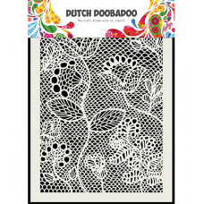 Dutch DooBaDoo - Dutch Mask Zentangle