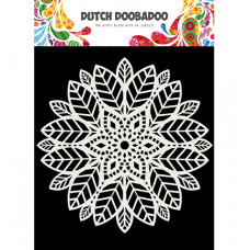 Dutch DooBaDoo - Mask Art Mandala leaves