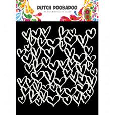 Dutch DooBaDoo - Mask Art hearts