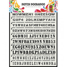 Dutch DooBaDoo - DDBD Dutch Mask Art Strips