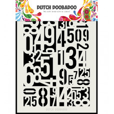 Dutch DooBaDoo - Dutch Mask Art Numbers A5