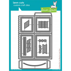 Lawn Fawn - scalloped box card pop-up