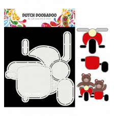 Dutch DooBaDoo - Card Art Motor en zijspan set