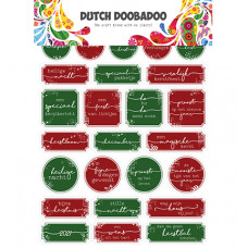 Dutch DooBaDoo - Dutch Sticker Art Christmas
