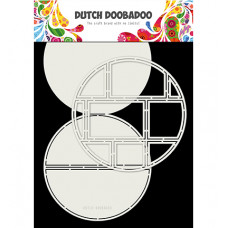 Dutch DooBaDoo - Card Art Easel Card Circle 2pcs