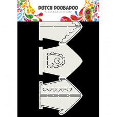 Dutch DooBaDoo - Card Art  Gingerbread House