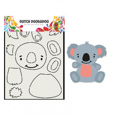 Dutch DooBaDoo - Card Art Built up Koala