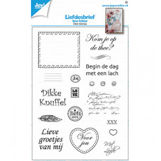 Joy!Crafts - Clearstamp - Loveletters