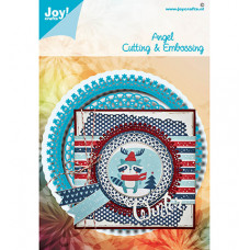 Joy!Crafts - Stans - embosmal - Noor - Blauwe mal Angel