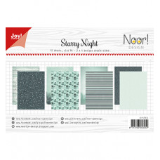 Joy!Crafts - Papierset - Noor - Design Starry Night