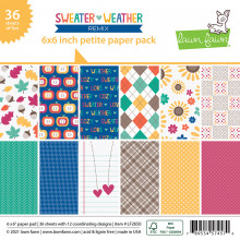 Lawn Fawn - sweater weather remix - petite paper pack