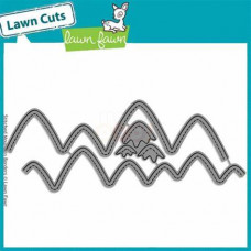 Lawn Fawn - stitched mountain borders