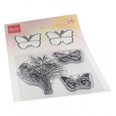 Marianne Design - Tiny's Butterflies stamp & die set