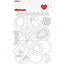 StudioLight - Studio Light - Cutting Die - Filled With love - nr.353