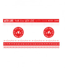 StudioLight - Studio Light - Washi Tape - Filled With love - nr.19