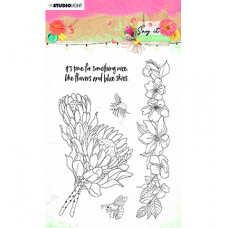 StudioLight - SL Clear Stamp Say it with flowers nr.524